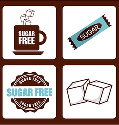 Sugar product vector