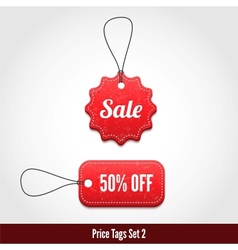 Price tags set 2 vector