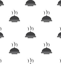 Dish seamless pattern vector