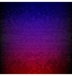 Red blue and purple pixelated digital background vector