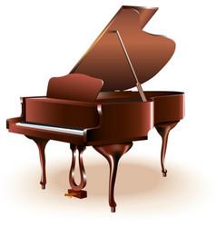 Classical grand piano vector