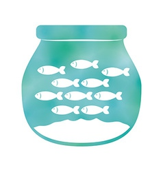 Fish design vector