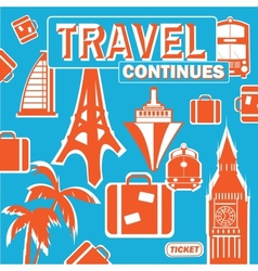 Journey continues vector