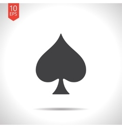 Game spade icon eps10 vector