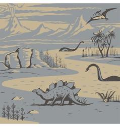 Dinos vector