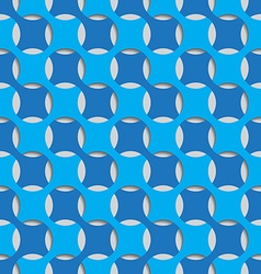 Blue seamless abstract background tile vector