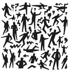 People - doodles set vector