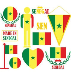 Senegal vector