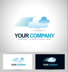 Cloud concept logo vector