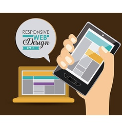 Gadget design vector