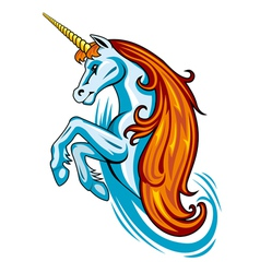 Fantasy unicorn vector