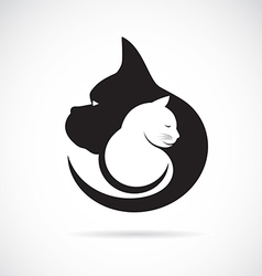 Image of an dog and cat vector
