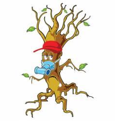 Tree man vector
