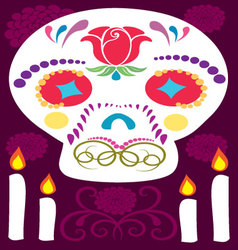 Day of the dead 6 vector