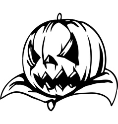 Pumpkin - halloween set - vector