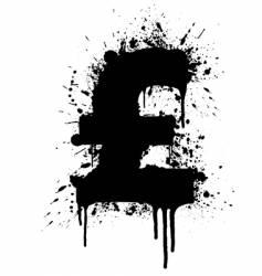 United kingdom pound vector