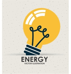 Energy icon vector