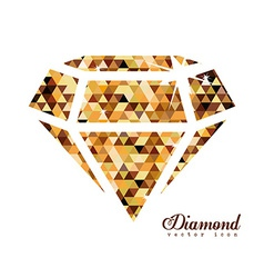Diamond design vector