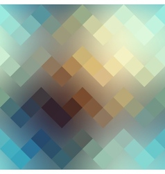 Textured pixels chevron pattern on blurred vector