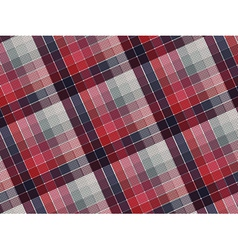 Plaid fabric texture vector