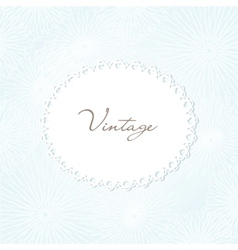 Vintage hand drawn background for your design vector