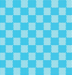 Blue white seamless fabric texture pattern vector