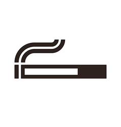 Cigarette sign vector