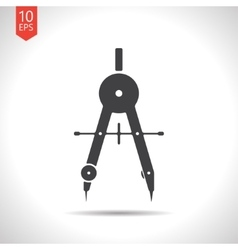 Compasses icon eps10 vector