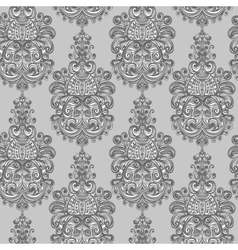 Seamless vintage baroque background vector