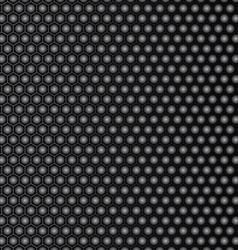 Steel honeycomb patterned dark background vector