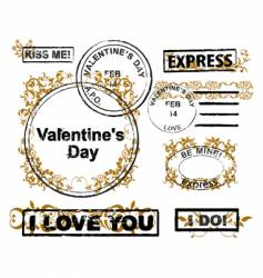 Design elements valentine's day vector