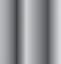 Steel honeycomb patterned background of interest vector