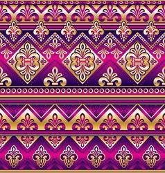 Silk seamless ornament vector
