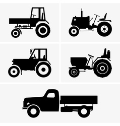 Agricultural vehicle vector