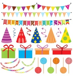 Party decoration vector