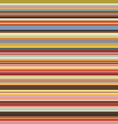 Colored horizontal stripes seamless pattern vector