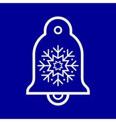 Bell ornament vector