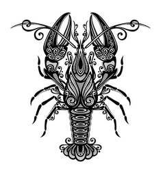 Sea lobster vector