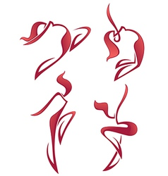 Hot dance vector