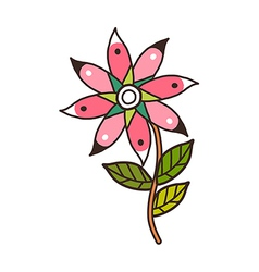 A view of flower vector
