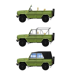 All road vehicle vector