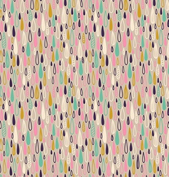 Cute seamless childish texture endless ornamental vector