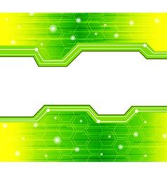 Glowing elements vector