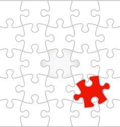 Background jigsaw puzzle vector