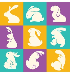 Rabbit collection vector