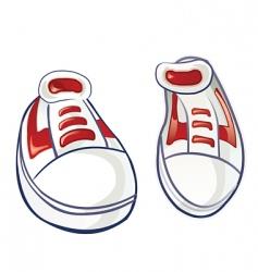 Sneakers 2 vector
