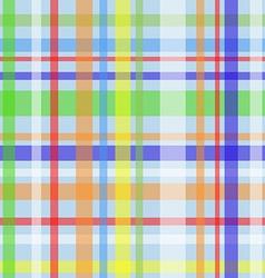 Seamless plaid pattern-blue vector