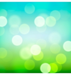 Bright colorful blurred natural background vector
