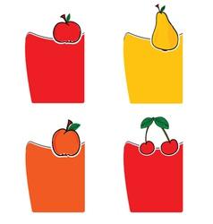 Fruit color vector