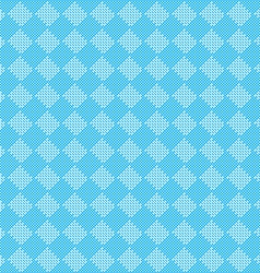Diagonal blue seamless fabric texture pattern vector